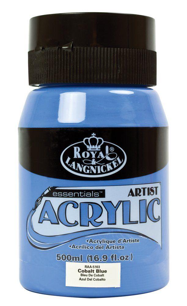 Pintura Royal Langnickel Azul Cobalto, muy utilizado en Modelismo Ferroviario
