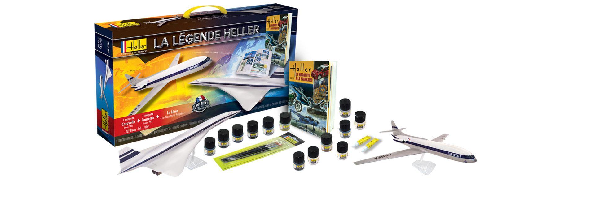 Maquetas Heller kits y pinturas