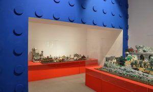 Dioramas y maquetas de lego