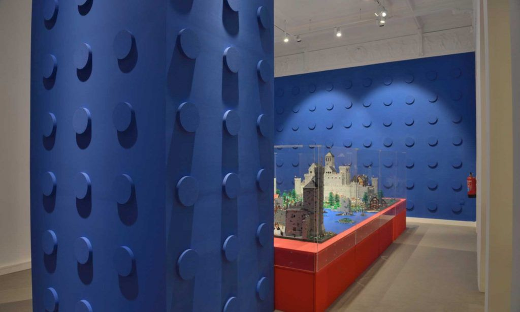 Exposición I Love Lego, maquetas de lego